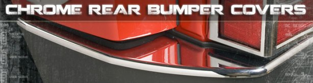 Chrome Hummer Rear Bumper Covers