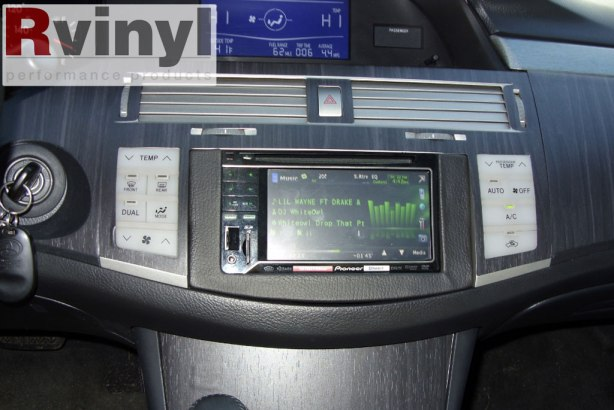 Ebony Blackwood Installed Dash Trim Kit