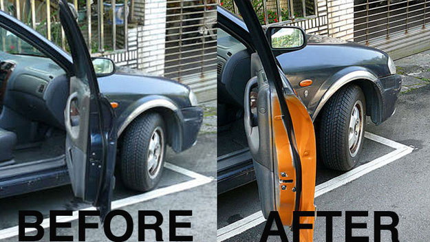 door-warning & Prevent Accidents by Wrapping the Inside of Your Door | Auto Trim ...